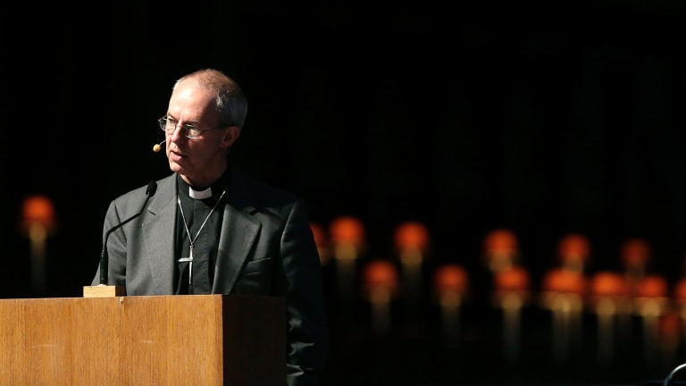 Justin Welby, Archbishop of Canterbury.