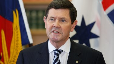 Kevin Andrew announces that he will has been sacked as Defence Minister.