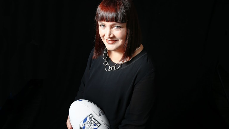 Historic appointment: Former Canterbury Bulldogs boss Raelene Castle.
