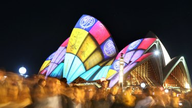 Vivid is easy to enjoy when you live in the CBD.