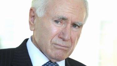 Health scare: former Prime Minister John Howard.