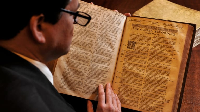 Bible studies: Institutes providing religious training will be eligible for government funding under the Coalition's proposed higher education reforms.