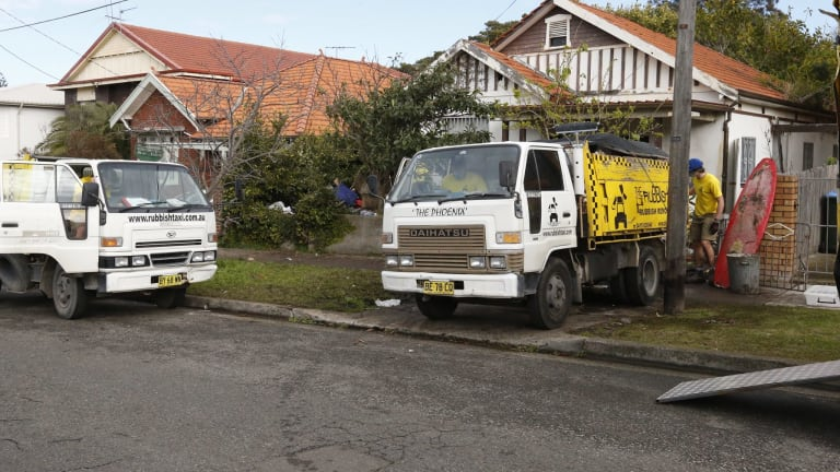 Forced clean ups, such as this one at the Bobolas family home in Bondi, do not address the underlying health problem.