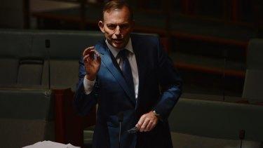 Tony Abbott says the First Fleet brought Australia into the modern world.