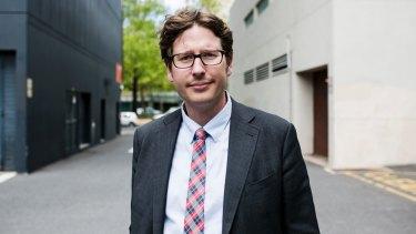 ACT Labor secretary Matt Byrne.