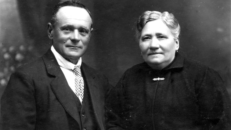 Joseph and Maria Canals, founders of Canals Seafoods, in 1922.