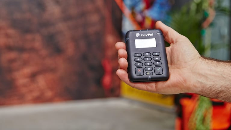 PayPal's new device for small businesses and vendors is designed to move them away from cash-only sales.