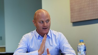 Walking away: CBA CEO Ian Narev.