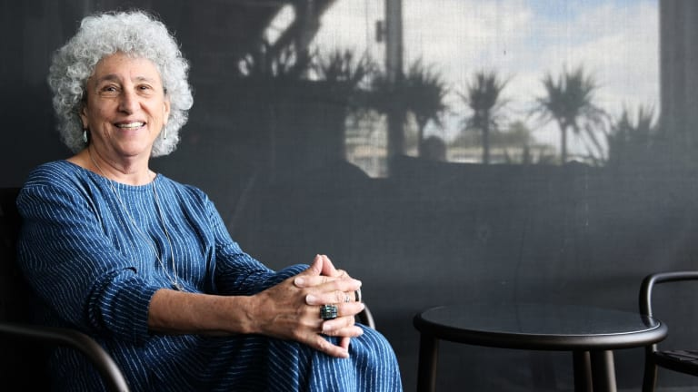 NYU professor of Nutrition Marion Nestle in Sydney last month.