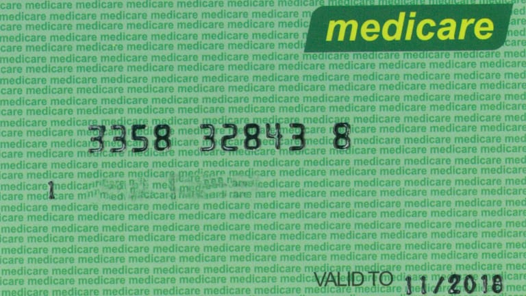 the fake medicare card obtained from a manufacturer in china