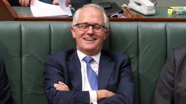 Malcolm Turnbull on Monday.