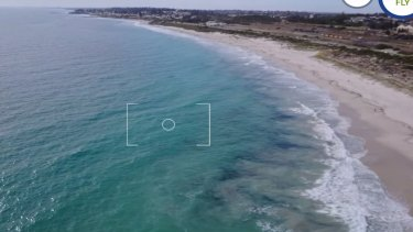 If something is spotted in the water, drone operators can tag it to the Surf Ranger web site where it's peer reviewed.