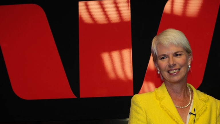 Outgoing Westpac chief Gail Kelly.