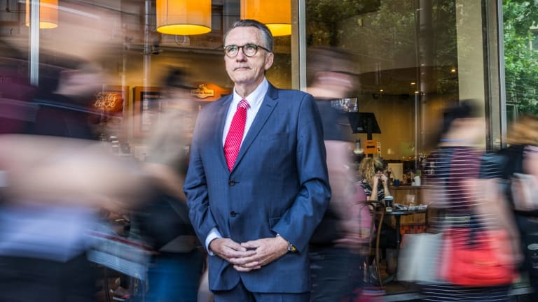 Michael Sherlock is the original founder of the Brumby's bakery chain. and is unhappy with how the business has been run by new owners RFG.