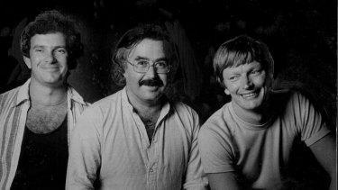 Nimrod directors Richard Wherrett, Ken Horler and John Bell in 1978.