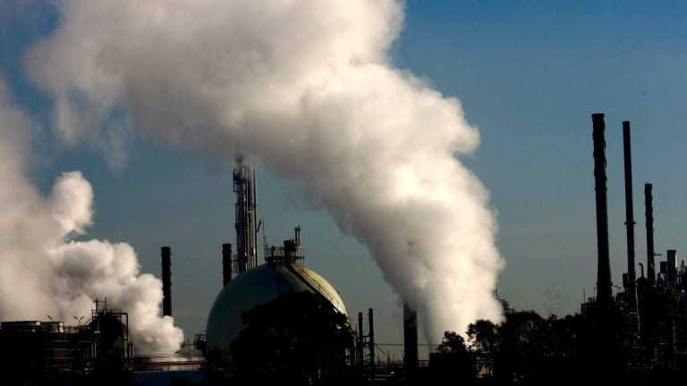 Pollution-reduction targets are the main game in climate-change policy.