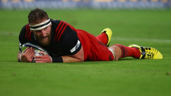 Kieran Read scores late as Crusaders snatch dramatic Super Rugby win over Sharks