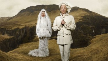 Cindy Sherman, Untitled #548, from the Chanel series.