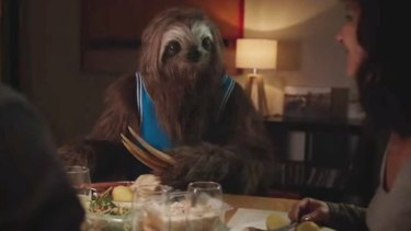 "An image from the state government's ""Stoner Sloth"" campaign."