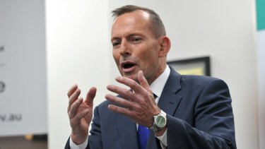 Prime Minister Tony Abbott said there was an efficiency argument for taxing earnings less and spending more.