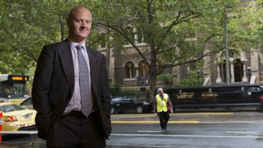 Feeling the heat: CBA boss Ian Narev.