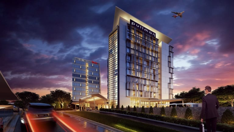 Work on the five-star, 130-room Pullman Hotel and the 3.5-star, 243-room Ibis Hotel started this week.
