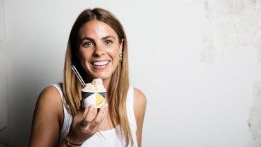 Lisa Valmorbida is the owner of Pidapipo gelato store.
