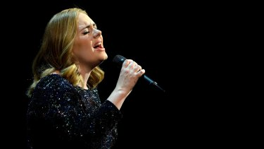 The 10-time Grammy winner said she had always been drawn to sad music.