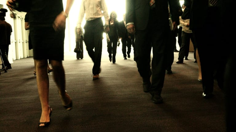 There were a record 216,000 job vacancies in November and 661,400 Australians out of work.