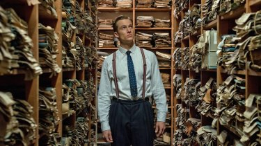 Alexander Fehling is determined to prosecute Nazis in <i>Labyrinth of Lies</i>.