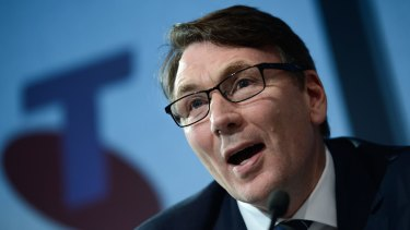 Former Telstra chief executive David Thodey shifted the company's focus from engineering to service.