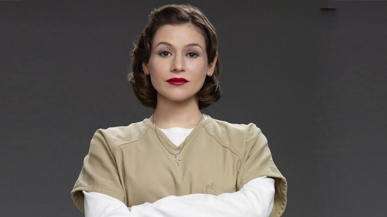 Expecting: Yael Stone will not now be appearing with the Sydney Theatre Company