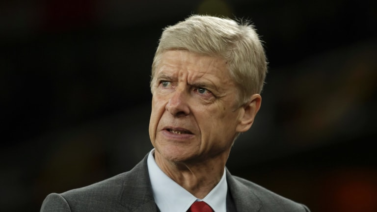"""We have to get the diving out of the game"": Arsene Wenger."