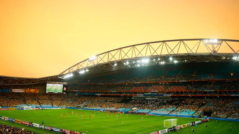 Redevelopment: ANZ Stadium.
