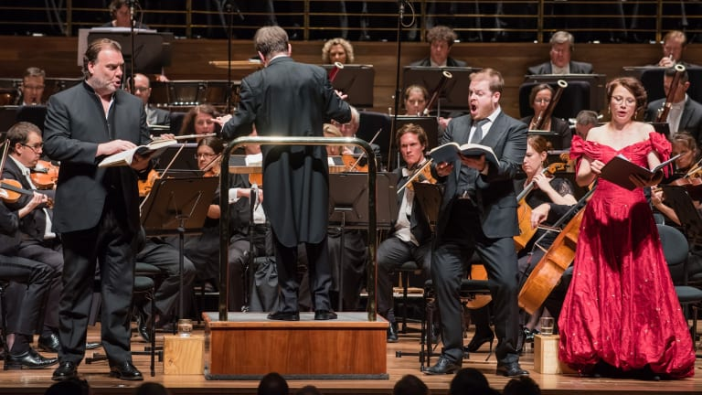 Sir Andrew Davis conducts he MSO's <I>Damnation of Faust</I>.