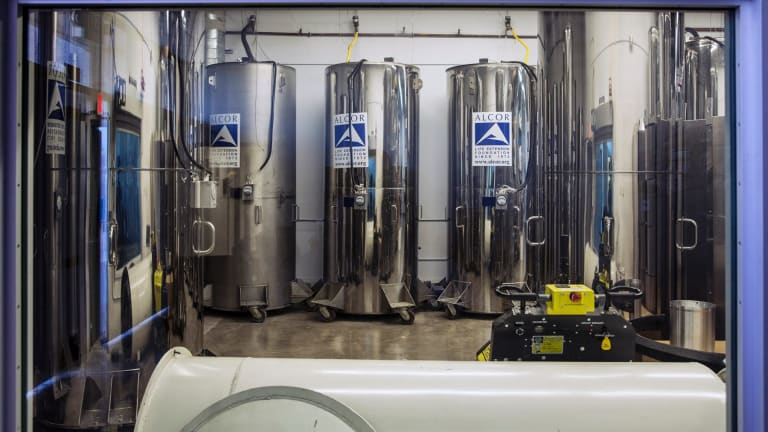 The Alcor Life Extension Foundation, one of the companies in the US that specialises in cryogenic preservation.