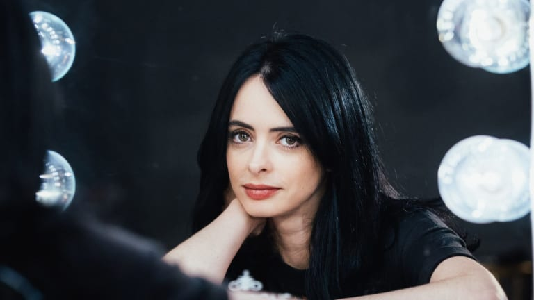 Krysten Ritter says her first novel, <i>Bonfire</I>,  'was a way for me to create something for myself – to take the story back and do what I want to do'.