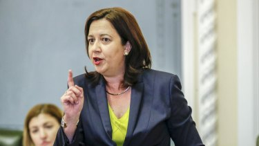 """Premier Annastacia Palaszczuk, who had been accused by the Opposition as dithering when it came to decisions, as the review first, act never, the """"know-nothing, do-nothing Premier"""", managed to not only beat the LNP at their own game, she changed the game for Labor."""