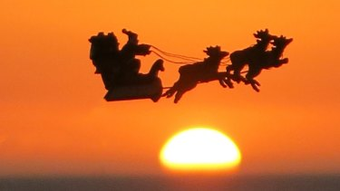 Santa Will Bring Weather To Perth This Christmas Day