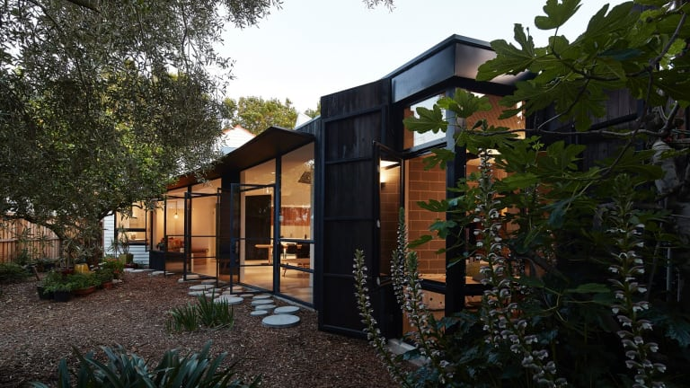 The Garden Pavilion in Brunswick was designed by Bloxas architects to help its owner sleep.