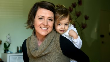 Diana Eiszele was seven months pregnant with her daughter Palmer-Jane when her mother Nicky unexpectedly died.