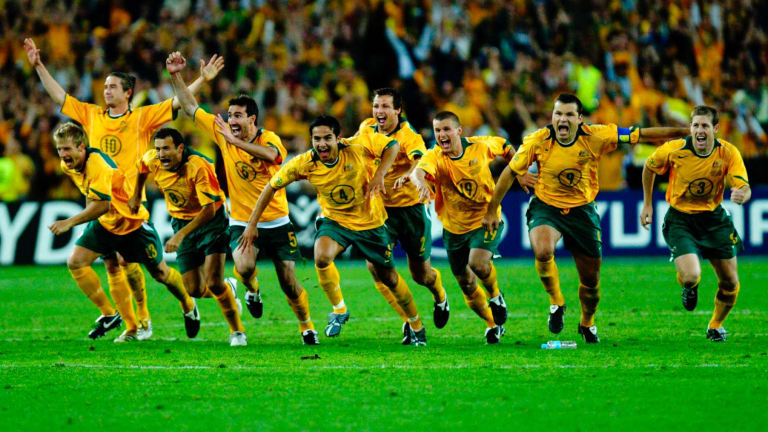 No stone left unturned: The Socceroos' qualification for the 2006 World Cup came after meticulous planning for the two-leg play-off with Uruguay.