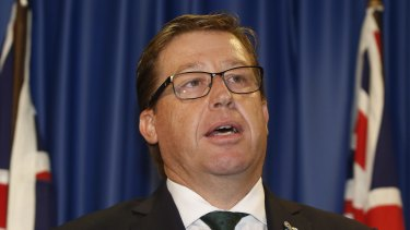 Police Minister Troy Grant says the allocation of police resources is a matter for the Police Commissioner.