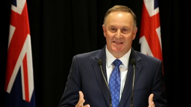Shock announcement: John Key is to resign as New Zealand's Prime Minister.