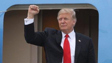 New travel ban: US President Donald Trump.