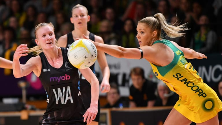 Diamonds midcourter Kate Moloney says leadership has made her a better player.