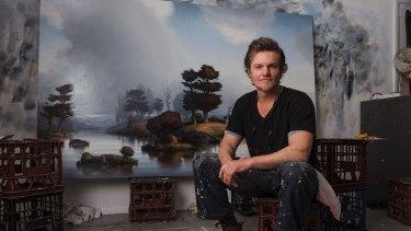 Alexander McKenzie in his Cronulla studio.