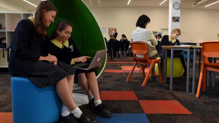 Instead of pairing 20 students with one teacher, year 5 and 6 classes at Inaburra School are configured according to need.