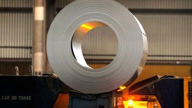 BlueScope steelworks series.