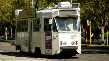 Melbourne's Z-class trams, small and boxy with steep steps, will soon be history.